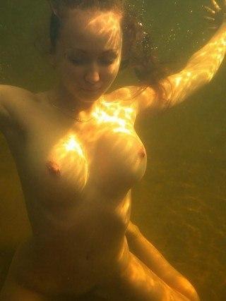 Трах под водой