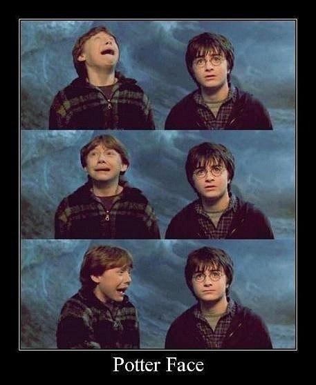Демотиватор про Гарри Поттера