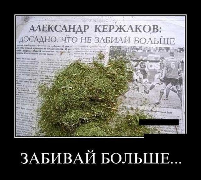 Демотиваторы про меткого Кержакова